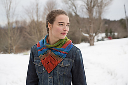 Liberty Wool Neckerchief PDF