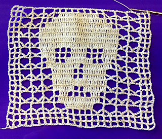 Ravelry Filet Skull Doily Pattern By Maria Merlino