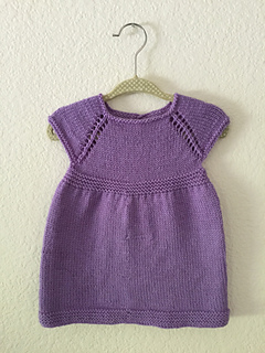 Ravelry Simple Amp Sweet Little Baby Dress Pattern By Taiga