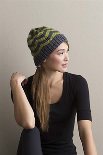 b2ea76f3a74 Ravelry  Chevron Hat pattern by Kate Gagnon Osborn