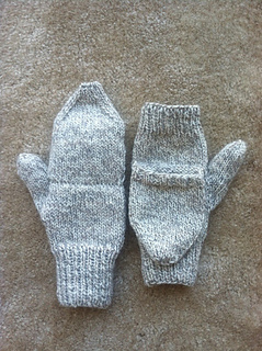 Ravelry Four Needle Fingerless And Convertible Mittens