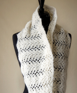 Infinity Lace Scarf Pattern By Megan Goodacre Ravelry