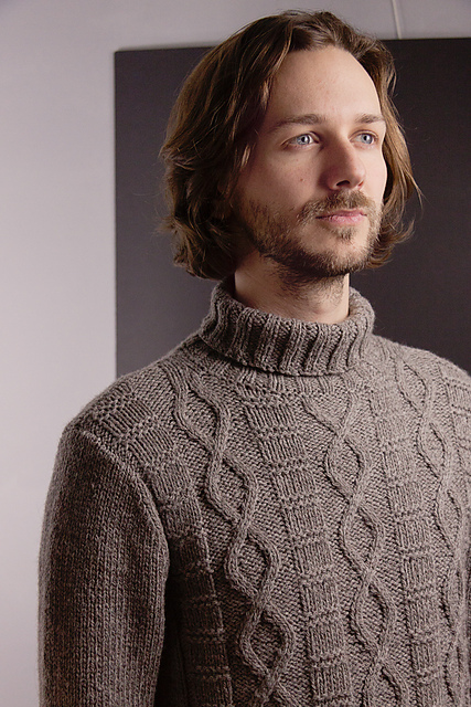 Ravelry Easy Fishermans Sweater Pattern By Megan Goodacre