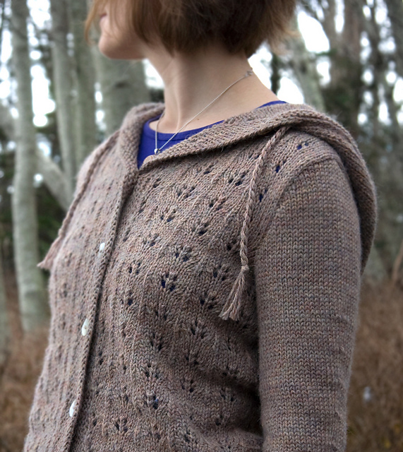 Ravelry Sweet Oak Hooded Cardigan Pattern By Megan Goodacre