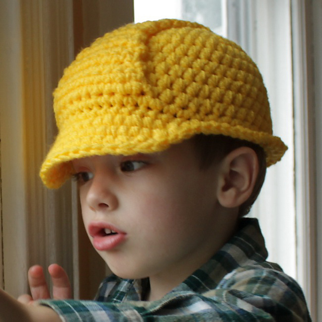 Ravelry: Hard Hat Helmet pattern by Micah York