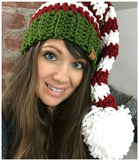 4266597eb9c Ravelry  Bulky   Quick Elf Hat pattern by MJ s Off The Hook Designs