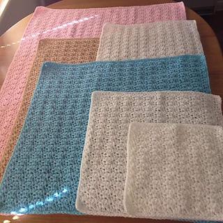 Ravelry Angel Preemie Blanket Pattern By Michelle Stalker