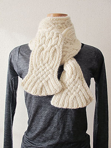 Ravelry Ideas For Double Sided Knitted Scarves
