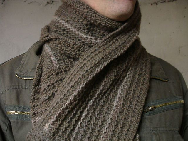 Ravelry As Manly Scarf Pattern By Johanna K Sarten