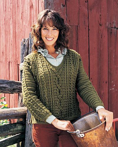 Ravelry Fisherman Sweater Pattern By Joyce Nordstrom