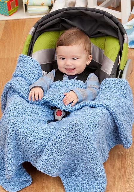 Ravelry Car Seat Blanket Pattern By Pamela Greswolde