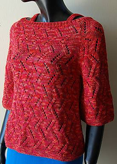 1fe857dc8390 Ravelry  Raglan Sleeve Boat Neck Woman s Sweater pattern by Crystal Palace  Yarns