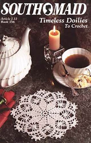 Ravelry South Maid J12 Book 356 Timeless Doilies To Crochet Patterns