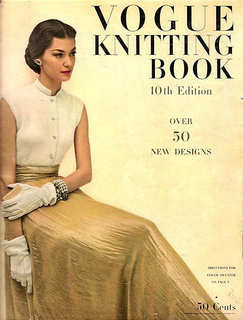 Vogue knitting book congratulate