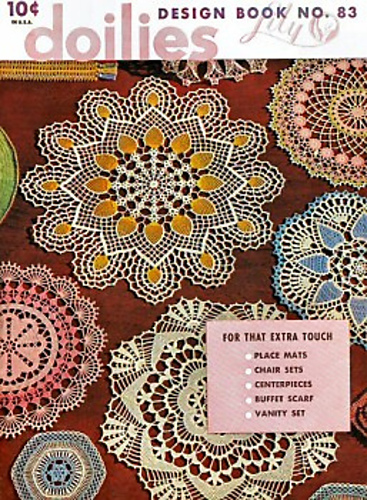 Ravelry Lily Design Book No 83 Doilies Patterns