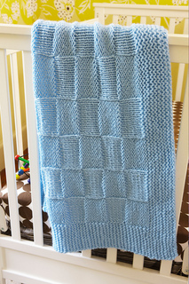 Ravelry: Basketweave / Checkers Baby Blanket pattern by Lion Brand Yarn