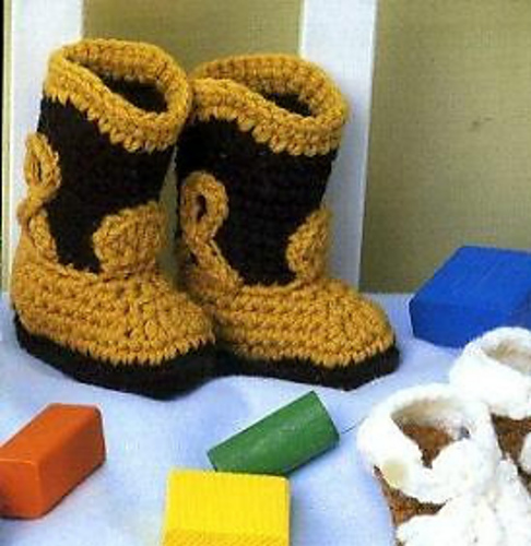 Ravelry Cowboy Boots Pattern By Gina Four Leaf Clover