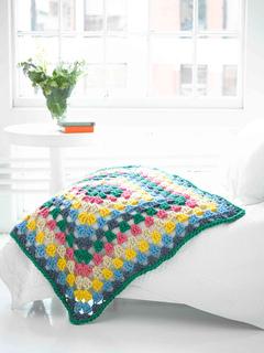 Ravelry: Weekend Granny Afghan pattern by Lion Brand Yarn