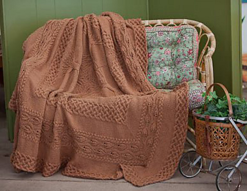 Ravelry Cozy Knitted Blanket Patterns 4 Free Afghan Patterns