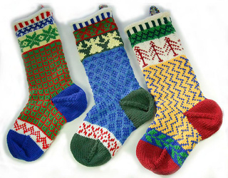 Ravelry: Cascade Christmas Stocking pattern by Marji LaFreniere