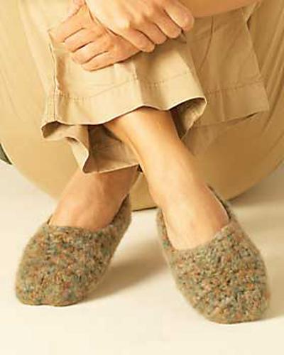 Ravelry: Easy Crochet Slippers to Felt #720 pattern by Bernat Design ...