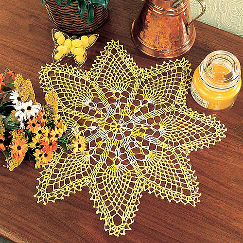 Ravelry Heirloom Doilies A Collection Of Favorite Crochet Patterns