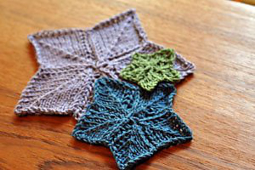 Ravelry Knitted Star Pattern Pattern By Interweave Knits Staff