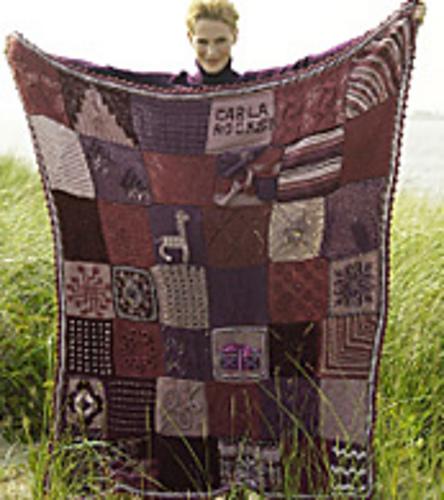 Ravelry Carlas Blanket Pattern By Knit Simple