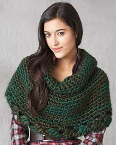 Ravelry Really Big Crochet Cape Pattern By Bernat Design Studio