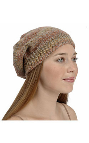 Ravelry F302 Slouchy Hat Pattern By Plymouth Yarn Design Studio