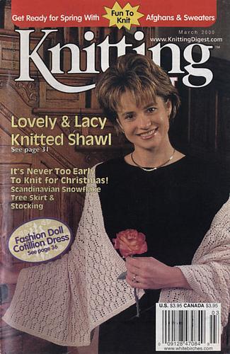 Ravelry: Knitting Digest Magazine, Vol. 22 No. 2, March 2000 - patterns