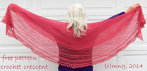 Ravelry Desperately Seeking Shallow Sc Crescent Pattern By Min G