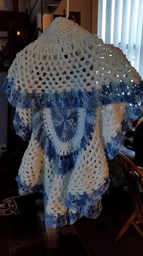 Ravelry 721 Chunky Style Crochet Circular Shawl Pattern By Emi