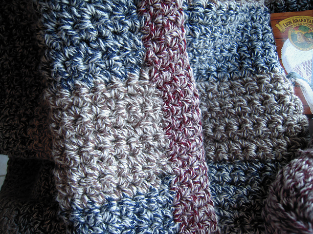 Ravelry Rawhide Afghan Pattern By Lion Brand Yarn