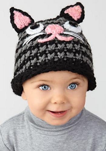Ravelry Loom Knit Kitten Hat Pattern By Simplicity Pattern Company