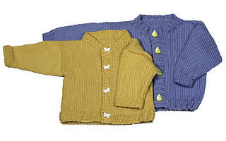 ecf7ed38a9b5 Ravelry  Easy Baby Cardigan pattern by Diana Jordan
