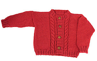 015f91a672cd Ravelry  Easy Child s Cable Cardigan pattern by Diana Jordan