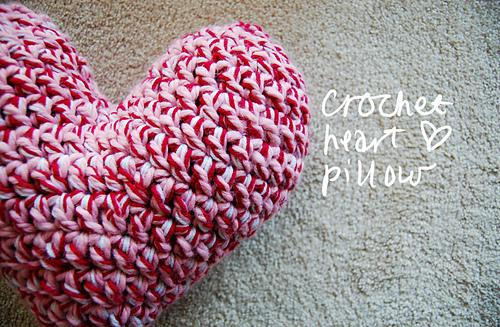 Ravelry Crochet Heart Pillow Pattern By Monica Shanks