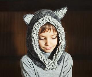 Ravelry  Fox   Wolf Hat Hoodie pattern by Mon Petit Violon c17da08b449