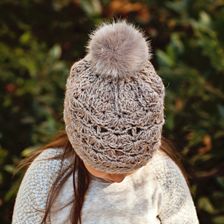 Ravelry  Faux Fur PomPom Hat pattern by Mon Petit Violon 0ecfcd2e86f