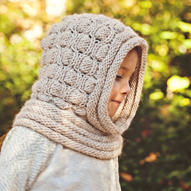 Ravelry: Cocoon Hooded Cowl pattern by Mon Petit Violon
