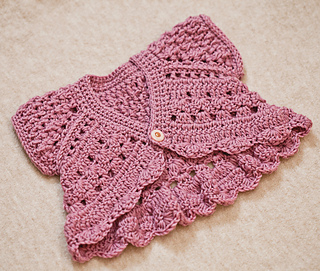 Ravelry Butterfly Shrug Pattern By Mon Petit Violon