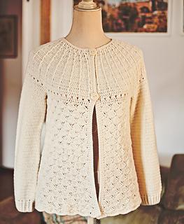 ce52690be Ravelry  Mia Cardigan pattern by Mon Petit Violon