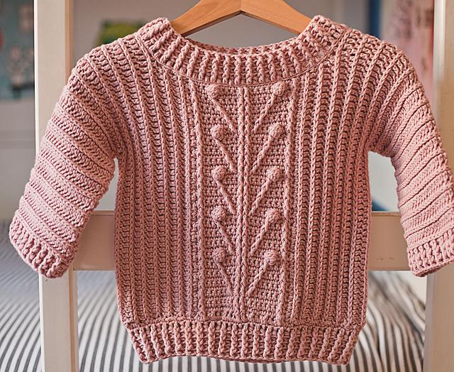 Ravelry Winter Garden Sweater Pattern By Mon Petit Violon
