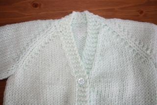 3ccdb44cb Ravelry  Unisex V Necked baby Cardigan pattern by Morven Swan
