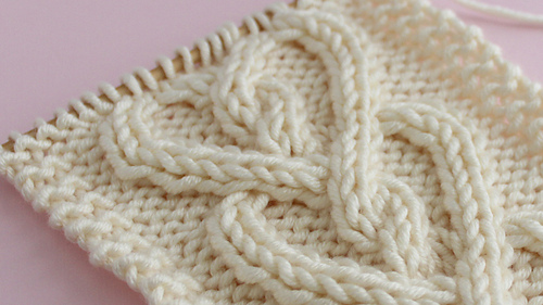 Ravelry Cable Heart Pattern By Kristen Mcdonnell