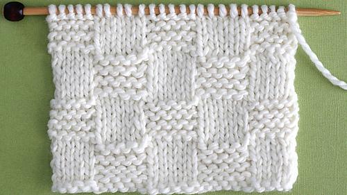 17818bdc20b85 Ravelry  Garter Checkerboard pattern by Kristen McDonnell
