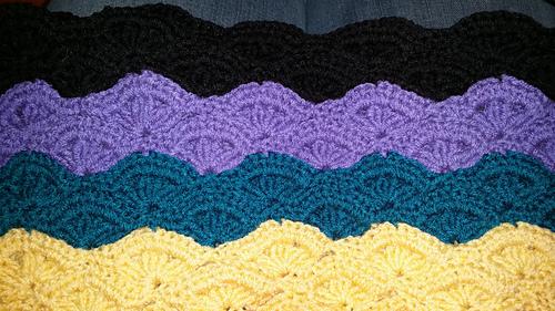 Ravelry Irish Wave Baby Afghan Scarf Pattern By Elizabeth Mareno
