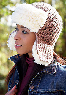 Ravelry  Trapper Hat pattern by Patons d82ced9559d