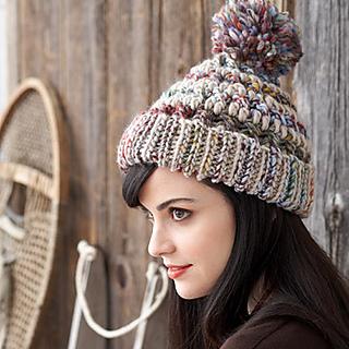 565e931a03f Ravelry  Big Stitch Hat   Cowl pattern by Patons